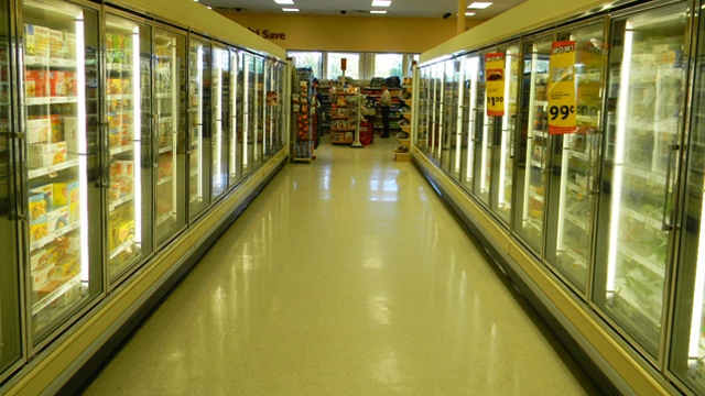 Large selection of grocery products at Bud's Shop 'n Save in Pittsfield